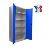 armoire metal atelier haute 1200 x 550 mm