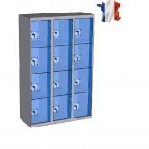 casier plexi 3 colonnes 12 cases largeur 1200 mm