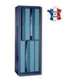 casier metallique distribution linge sur cintre 8 portes
