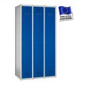 vestiaire métallique industrie propre 3 portes