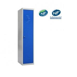 Vestiaire metallique pour industrie propre armoire m tallique - Vestiaire metallique 1 porte ...