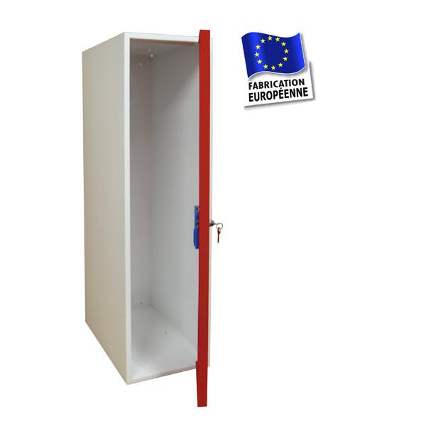 Casier consigne m tallique armoire prix usine mat riel - Vestiaire metallique 1 porte ...