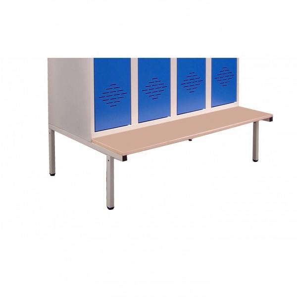 pi tement banc pour vestiaires et casiers m talliques. Black Bedroom Furniture Sets. Home Design Ideas