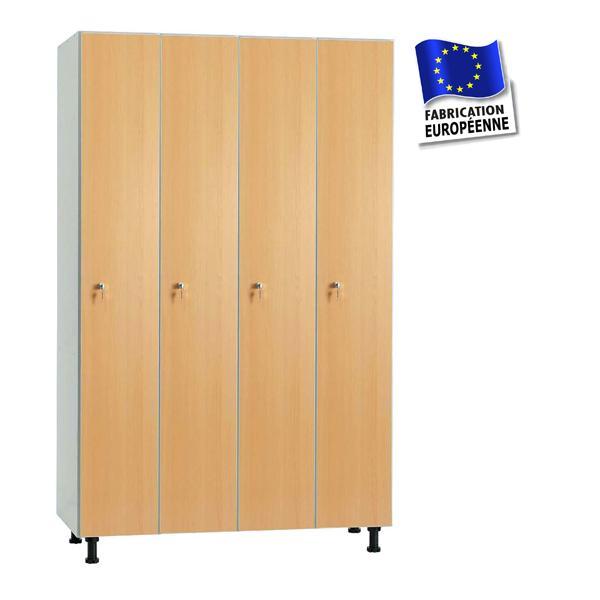 vestiaire en bois m lamin casiers en bois m lamin. Black Bedroom Furniture Sets. Home Design Ideas