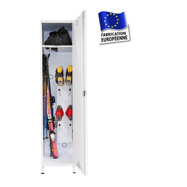 vestiaires m talliques pour le ski armoires de rangements pour les skis prix usine. Black Bedroom Furniture Sets. Home Design Ideas