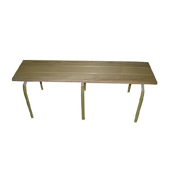 bancs en m tal avec assises en bois bancs empilables mobiliers pour collectivit s. Black Bedroom Furniture Sets. Home Design Ideas